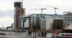 Minister for Finance Paschal Donohoe  announced a tripling of the stamp duty payable by purchasers in commercial property transactions. Photograph: Paul Faith/AFP/Getty Images