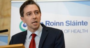 Simon Harris  said measure was part of a multi-faceted approach to turning Ireland into a tobacco-free country by 2025. Photograph: Dara Mac Dónaill
