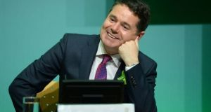 "Minister for Finance Paschal Donohoe said it was not an ""election budget"".Photograph: Dara Mac Donaill"