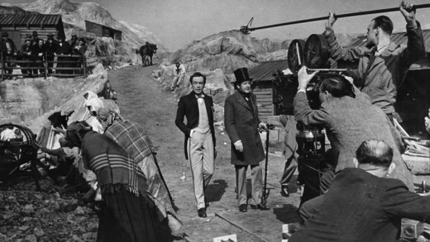 Hungry Hill: filming the screen version of Daphne Du Maurier's novel, in July 1946. Photograph: Raymond Kleboe/Picture Post/Hulton/Getty