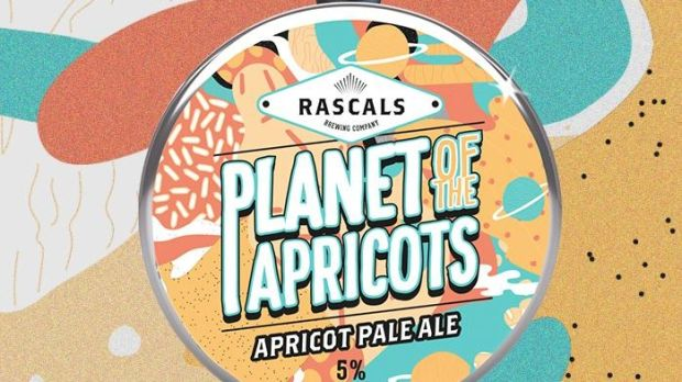 Dublin brewery Rascals's latest creation, the brilliantly named Planet of the Apricots, is made with apricot puree and a fruity Vermont yeast