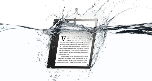 Amazon introduces Kindle you can read in the bath