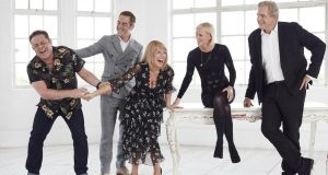 Cold Feet: John Thomson, James Nesbitt, Fay Ripley, Hermione Norris and Robert Bathurst