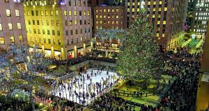 The skating rink at the Rockefeller Center in New York. Photograph: iStock
