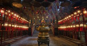 Man Mo is one of Hong Kong's oldest temples. Photograph: Getty Images