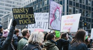 Many women no longer relate to modern feminist ideology and believe the movement is now regressive, not progressive. Photograph: Getty Images