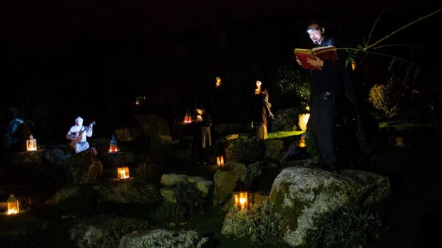 Halloween Ghostly Night Performance at the Lafcadio Hearn Japanese Gardens in Tramore, Co. Waterford runs on October 28th and 29th. Photograph: Donal O'Flynn