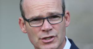 Minister for Foreign Affairs Simon Coveney rejected the Bloomberg report. Photograph: Brian Lawless/PA Wire