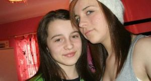 Shannon Gallagher (right) was aged 15 when she died on December 12th, 2012, just weeks after her younger sister Erin (13) (left) also took her own life. Photograph: