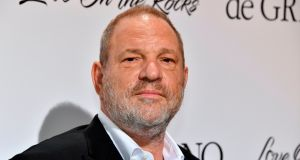 The British Academy of Film and Television Arts (Bafta) said it has suspended Harvey Weinstein's membership, effective immediately. File photograph: Yann Coatsaiou/AFP/Getty Images
