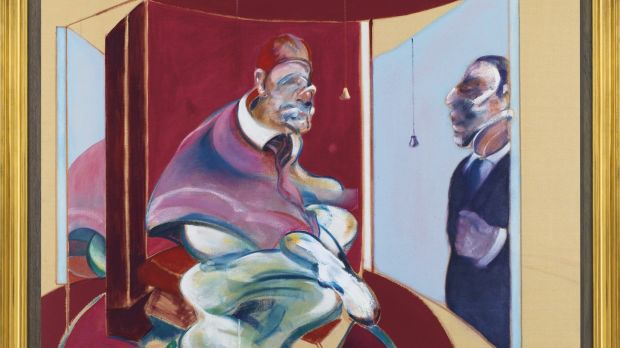 'Study of Red Pope 1962. Second version 1971' by Francis Bacon – with a top estimate of £80 million – failed to sell at Chrisite's, London
