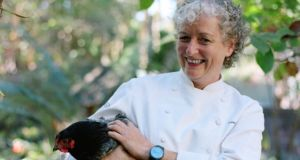 "Irish chef and teacher Frances Wilson, living in Berkeley, California: ""It is so awful to think of what the beautiful Napa and Sonoma Valleys will look like for years to come""."