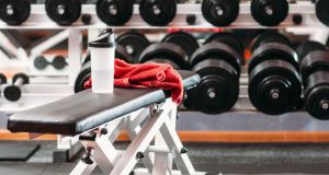 The man was seen lifting weights and running on the treadmill while off sick. Photograph: iStock