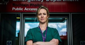 Dr Sinead McArdle, a consultant in emergency medicine in the Mater Hospital