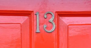 Homes at number 13 are typically €4,335 cheaper than the average Irish property, according to Daft.ie. Photograph: iStock