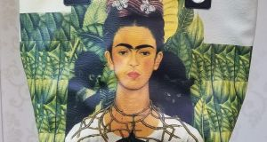 This week's SWE is my Frida Kahlo bag which I'm mad about.