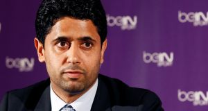 Nasser Al-Khelaifi is under investigation for bribing a Fifa executive to get World Cup broadcasting rights. Photo: Getty Images