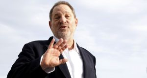 Harvey Weinstein, US film producer  posing during a photocall at the MIPCOM audiovisual trade fair in Cannes, southeastern France on October 5, 2015 shows . New York police said on October 12. VALERY HACHE/AFP/Getty Images