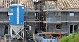 A housing estate under construction: the Glenveagh prospectus doesn't seem to see any risk that the growing public discontent about the shortage of affordable housing will  result in any  significant Government action.  File photograph: Alan Betson