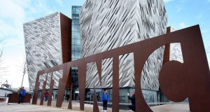 The Titanic Belfast attraction in Northern Ireland. The State's residents have taken more trips to the North this year, according to the latest statistics. File photograph: Paul Faith/PA Wire
