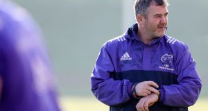 Anthony Foley at Munster training  at UL on October 13th of last year. Photograph: Tommy Dickson/Inpho