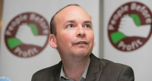 Solidarity TD Paul Murphy claimed the Government played with the mental health figures in last year's budget and was doing so again this year. Photograph: Gareth Chaney/Collins