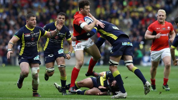 Clermont and Saracens will meet once again after the English side came out on top in last year's final. Photo: Getty Images