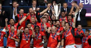 Saracens once again look like being the team to beat this year. Photo: Getty Images