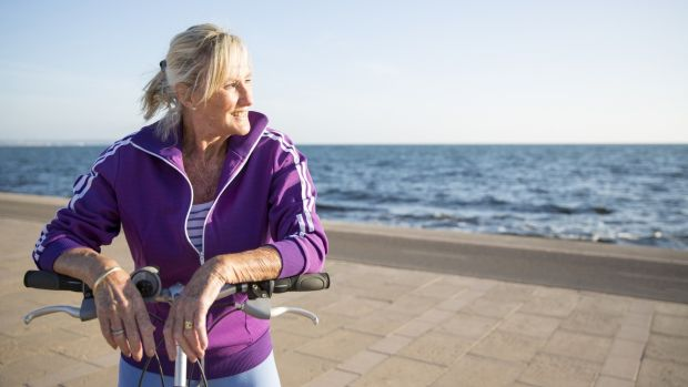 Being active also helps reduce your risk of falls, helps to maintain healthy bones, muscles and joints can improve your balance and coordination. Photograph: Getty