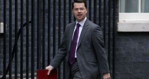 Britain's Northern Ireland Secretary James Brokenshire  said that clear differences remained between the DUP and Sinn Fein, and that a deal has not been reached despite recent progress.   Photograph: Daniel Leal-Olivas/AFP