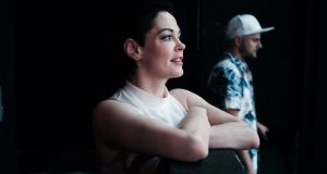 Rose McGowan: women are boycotting Twitter in protest against the actor's temporary suspension from Twitter. Photograph:  An Rong Xu/The New York Times
