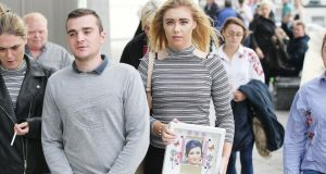 Jade Maguire gave a  victim impact statement at the Central Criminal court where her father Danny Keena was given a  life sentence for murdering her  mother Brigid Maguire. Photograph: Collins Courts