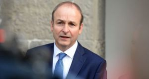 The Fianna Fáil leader has  supported his party's calls to reduce the construction industry Vat rates. Photograph: Eric Luke