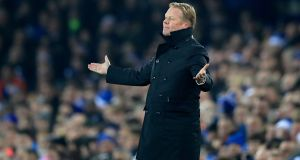 Everton manager Ronald Koeman has responded to Roy Keane's comments on James McCarthy. Photograph: PA