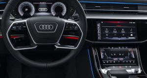 No modern Audi would be complete without its virtual cockpit digital screen right in front of the driver, and there is also a high-resolution, full colour head-up display as well.