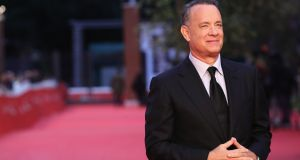 Tom Hanks approaches his collection in an interesting way, using  typewriters  as a hook to connect each story. Photograph: Vittorio Zunino/Getty Images