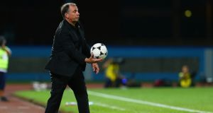 Bruce Arena has stood down as manager of the US. Photograph: Ashley Allen/Getty
