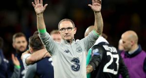 Martin O'Neill:  despite the manager's feat in guiding us to  the play-offs, we can't keep the ball and  have the poorest scoring record of any team left.  Photograph: Ryan Byrne/Inpho
