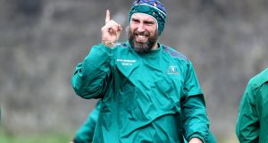 John Muldoon: will captain Connacht again in the Challenge Cup clah against Oyonnax. Photograph: Bryan Keane/Inpho