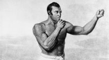 Undated painting of boxing pioneer Tom Molineaux.