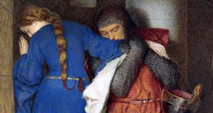 Hellelil and Hildebrand, the Meeting on the Turret Stairs (1864) by  Frederic William Burton Photograph: courtesy  National Gallery of Ireland
