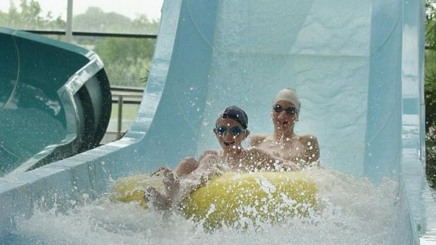 Make a splash at the National Aquatic Centre in Dublin 15. Photograph: Brenda Fitzsimons