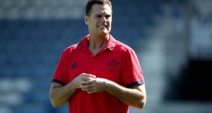 Munster Director of Rugby Rassie Erasmus before their Champions Cup clash with Castres Olympique. Photo: Dan Sheridan/Inpho