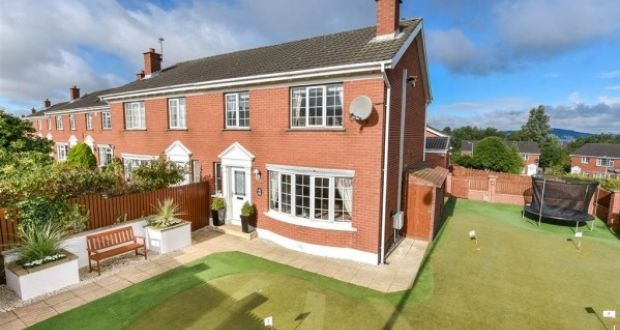A View Of Rory McIlroyu0027s Childhood Home Which Is Up For Sale. Photo:  Propertynews
