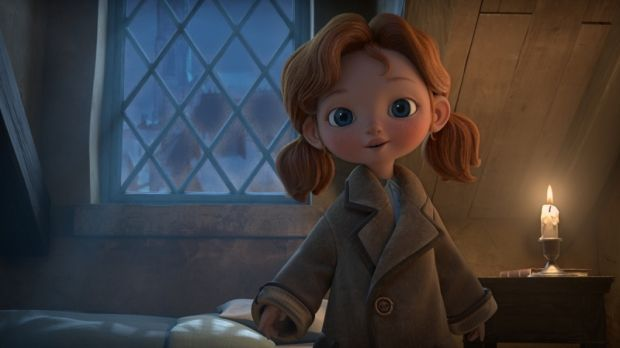 Angela's Christmas is based on a Frank McCourt book and is voiced by Ruth Negga.