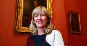 Prof Mary Horgan will on Wednesday become the first woman president of the Royal College of Physicians in Ireland in its 363-year history. Photograph: Nick Bradshaw