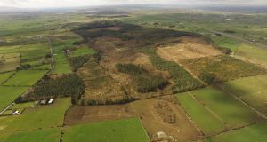 An aerial view of the Apple data centre site at Athenry, Co Galway, that got the go-ahead recently after the Commercial Court backed An Bord Pleanála's decision to grant permission to build the €850 million facility.