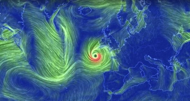 Image result for HURRicane ophelia ireland