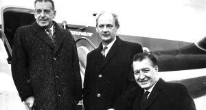 High flyers: Sean Lemass, Jack Lynch and Charles Haughey