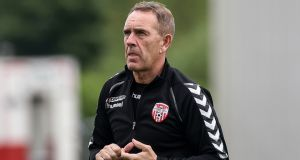 Derry City manager Kenny Shiels has said his team may not fulfil their fixture against Cork City. Photo: Ciaran Culligan/Inpho